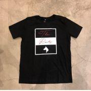 """Camiseta The Rocks """"POWERFULL STONE"""" Preta"""