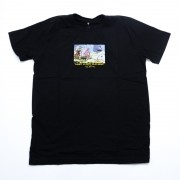 "Camiseta The Rocks ""Rich Old Man"" Preta"