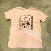 "Camiseta The Rocks ""Sad World"" Rosa"