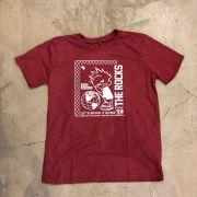 "Camiseta The Rocks ""Sad World"" Vermelha"