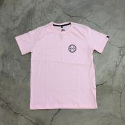 """Camiseta The Rocks """"What Is Your Way?"""" Rosa"""