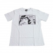 "Camiseta Thrasher ""Cartoon"" Branca"