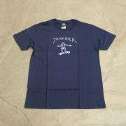 """Camiseta Thrasher """"Gonz"""" Azul Marinho"""