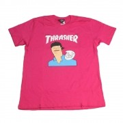"Camiseta Thrasher ""Gonz Cover Heliconia"" Pink"