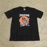 "Camiseta Thrasher ""Pushead"" Preta"