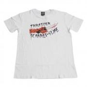 """Camiseta Thrasher """"Scarred"""" Branca"""