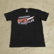 "Camiseta Thrasher ""Scarred"" Preto"
