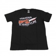 "Camiseta Thrasher ""Scarred"" Preto"