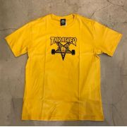 "Camiseta Thrasher ""SkateGoat"" Amarela"