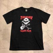 "Camiseta Thrasher ""Skull Rock"" Preto"