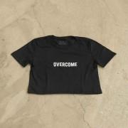 """Cropped Overcome """"Logo Box"""" Preto"""