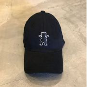 """Dad Hat Grizzly """"Og Bear Patch"""" Preto"""