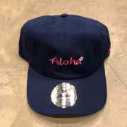 """DAD HAT OTHER CULTURE """"ALOHA"""" AZUL"""