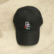 """Dad Hat Overcome """"Rose Logo"""" Preto"""