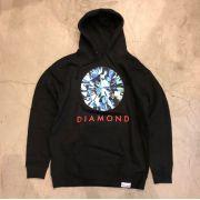 "Moletom Diamond ""BRIGHT""  Preto"