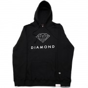 "MOLETOM DIAMOND ""FUTURA SIGN"" PRETO"