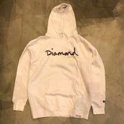 "Moletom Diamond ""Og Script"" Branco"