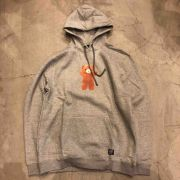 "Moletom Grizzly ""Childhood Pullover"" Cinza Mescla"