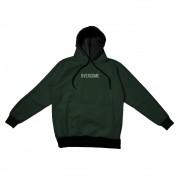 "Moletom Overcome Canguru ""Logo Box"" Verde Escuro"