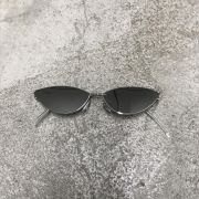 "Óculos Vintage ""Cat"" Prata/Espelhado"