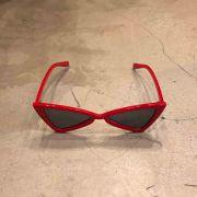 "Óculos Vintage ""Dope Cat"" Vermelho"