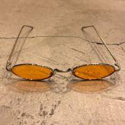 "Óculos Vintage ""Jazzy"" Prata/Laranja"