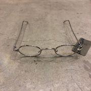 "Óculos Vintage ""JLennon"" Prata/Transparente"