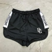"Shorts Overcome Feminino ""Strip"" Branco"