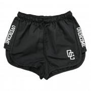 "Shorts Overcome Feminino ""Strip"" Preto"