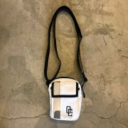 "Shoulder Bag Overcome ""Velcro"" Branca/Refletiva"