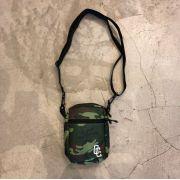 """Shoulder Bag Overcome """"Logo"""" Forest Camo"""