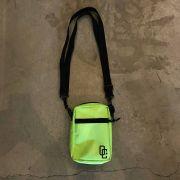 """Shoulder Bag Overcome """"Logo"""" Verde"""