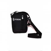 """Shoulder Bag Overcome """"Tag"""" Preta"""