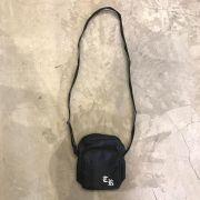 "Shoulder Bag The Rocks ""Logo"" Preta"