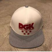 """Snapback DGK """"Squad"""" Branco"""