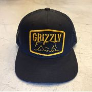 "Snapback Grizzly ""Nothern Rockie Trucker"" Preto"