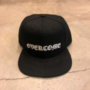 "Boné Snapback Overcome ""New Script"" Preto"