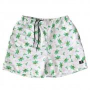 """Swimming Shorts Overcome """"Coconut Dream"""" Branco"""
