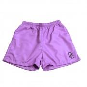 """Swimming Shorts Overcome """"OC Logo"""" Lilás/Preto"""