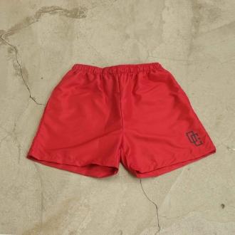 """Swimming Shorts Overcome """"OC Logo"""" Vermelho/Preto"""