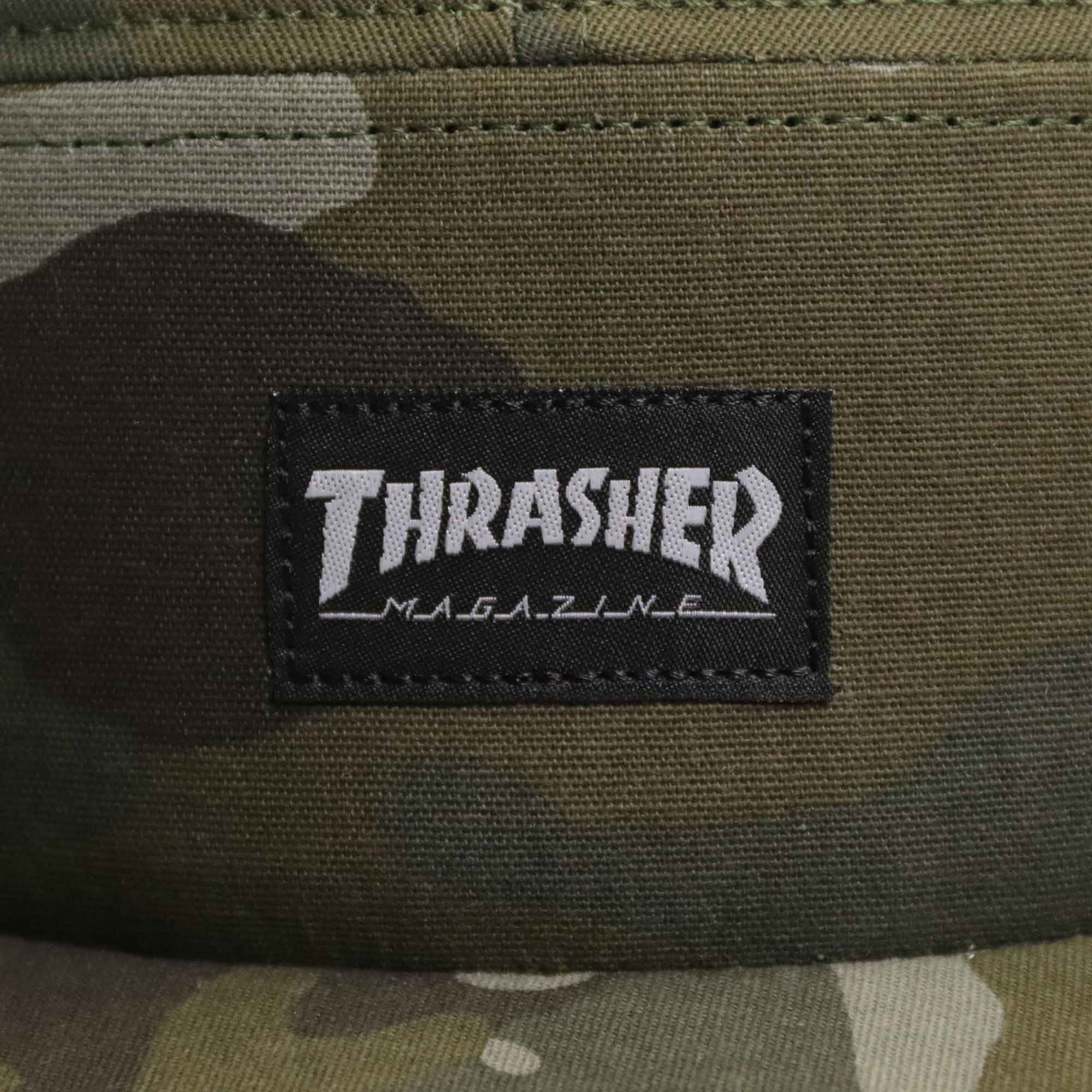 "5-Panel Thrasher ""Logo"" Camuflado"