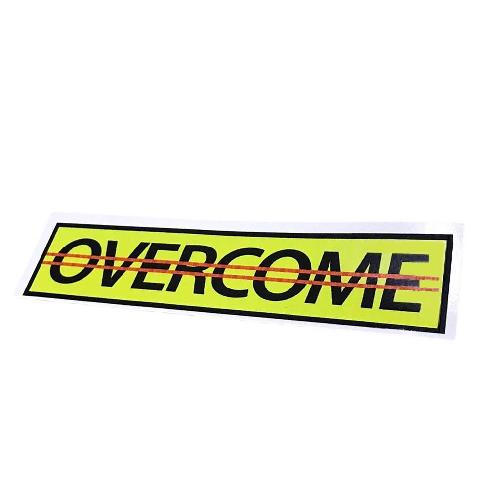 Adesivo Overcome