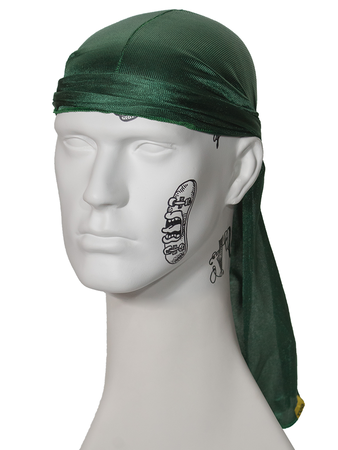 Bandana Durag Verde Musgo