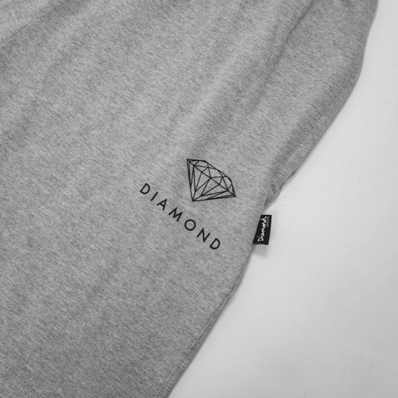 "Bermuda Diamond ""Raceway"" Moletom Cinza"