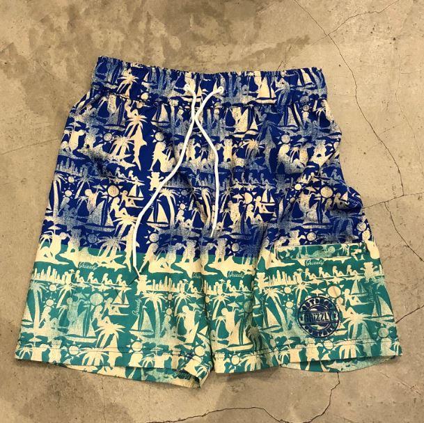 """Bermuda Grizzly """"MAI TAI SWIM"""" Azul"""