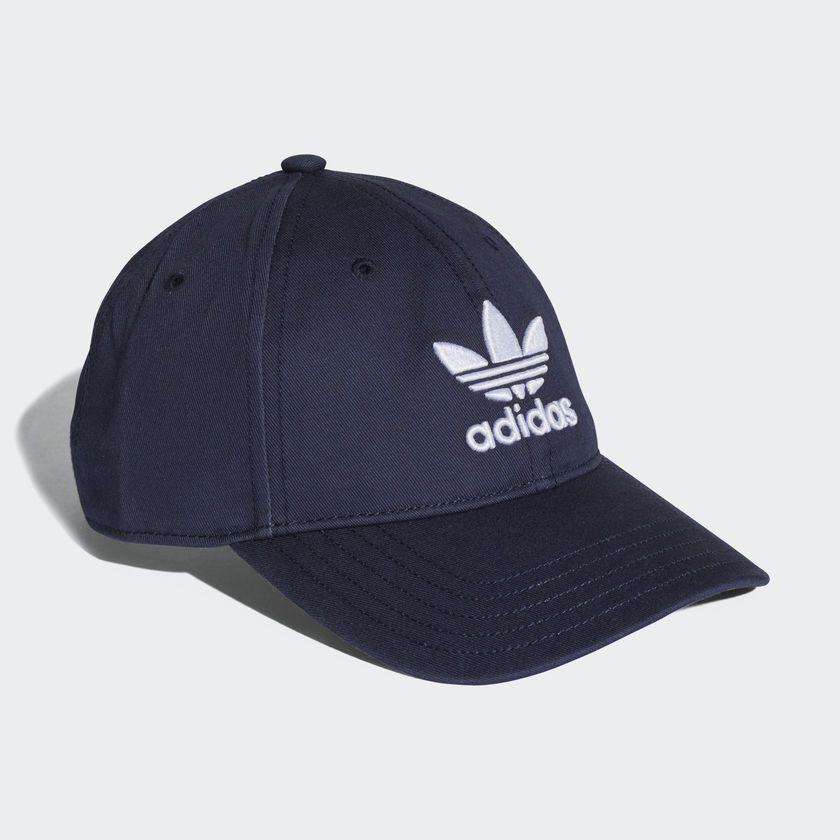 Boné Adidas Originals Trefoil Azul Escuro - Overcome Clothing 8d25c9deaf36e