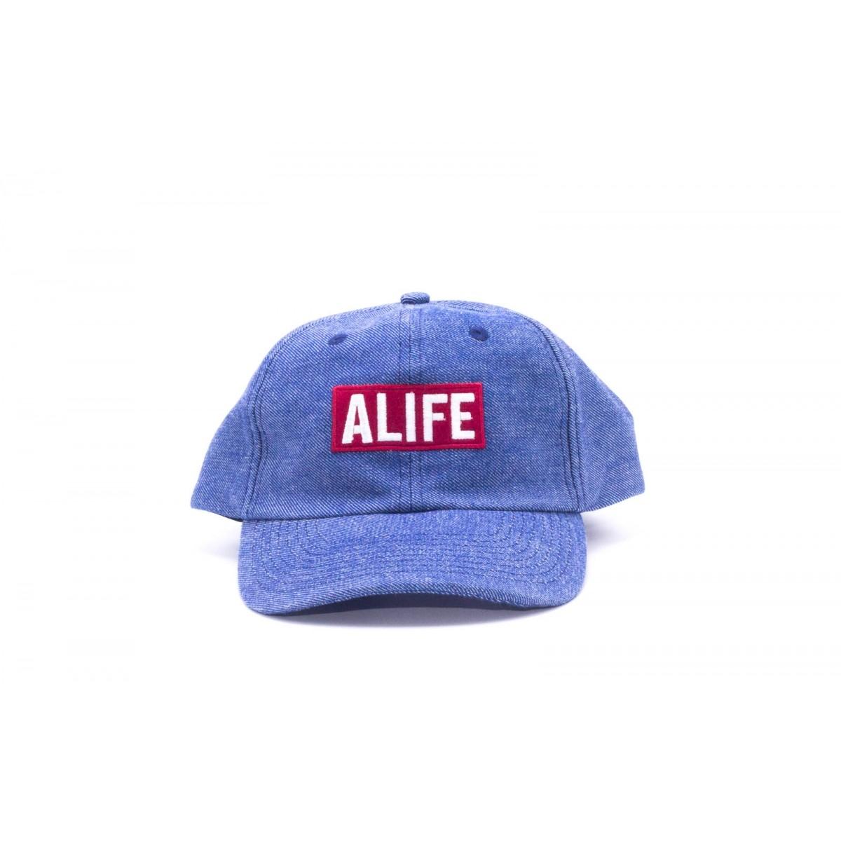 Boné Alife Logo Box Jeans