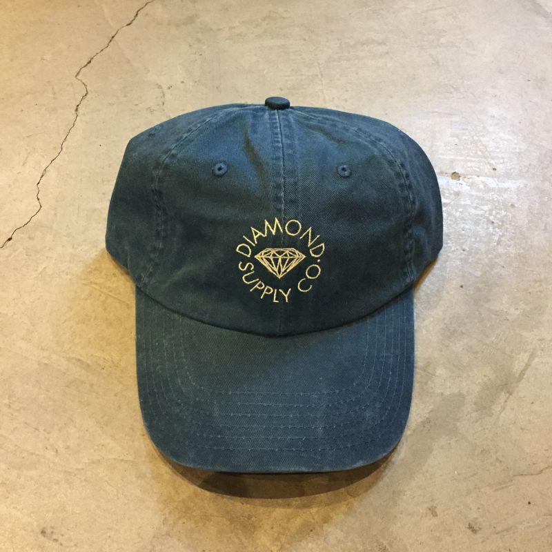 """Boné Dad Hat Diamond """"Circle"""" Jeans"""