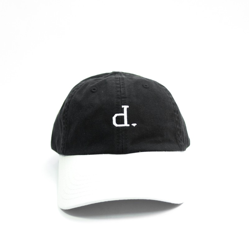 "Boné Dad Hat Diamond ""Un Polo"" Preto/Creme"