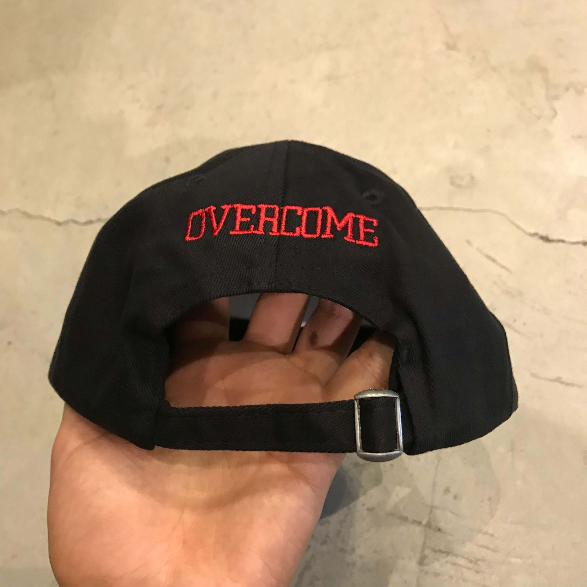 "Dad Hat Overcome ""100"" Preto"